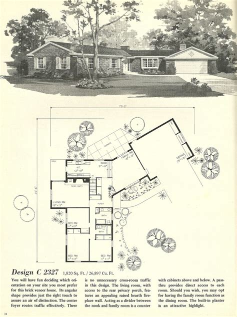 1960s ranch house plans 17 images about ranch house on pinterest mid century