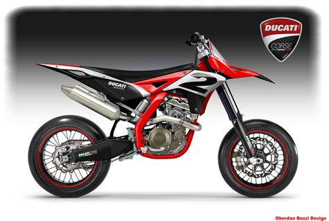 Bezzi Imagines Ducati Dirt Supermotard Bikes