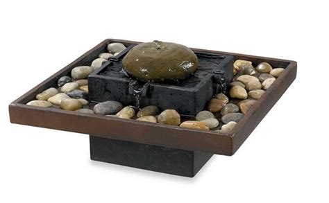 Tabletop Rock Garden Bliss Indoor Rock Garden Table Tabletop Water Peaceful Chsbahrain