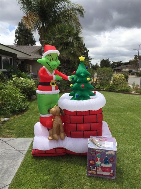 gemmy 6 inflatable santa in rv 87076 gemmy animated shop collectibles daily