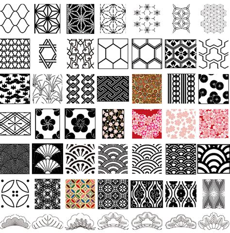 japanese pattern svg pattern download free japanese traditional vector