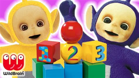 teletubbies learn colors numbers and shapes colours