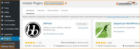 como instalar layout no wordpress como instalar um plugin no wordpress e consulters web