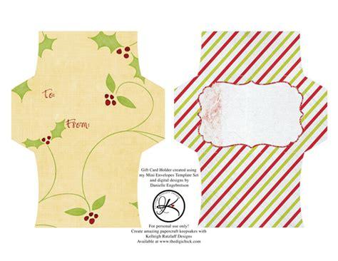 Free Printable Gift Card Holder Templates by Gift Card Envelope Freebie Kelleigh Ratzlaff Designs