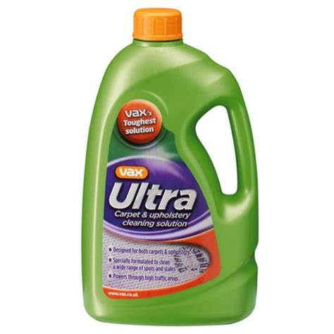 vax ultra carpet and upholstery cleaning solution buy vax ultra carpet cleaning solution 1 42l from our