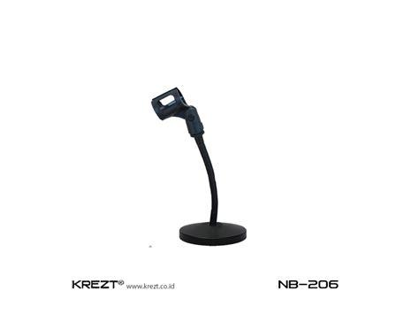 Stand Mic Krezt Nb 206 Diskon krezt nb 206 krezt audiokrezt audio official website