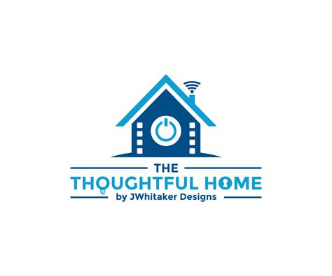 modern upmarket logo design for the thoughtful home by