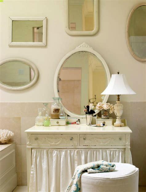 Skirted bathroom vanity cottage bathroom laura moss photography