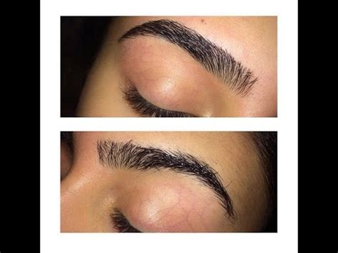 how to your own how i do my eyebrows how to thread your own eyebrows