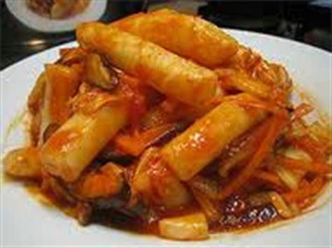 Tteok Tteokbokki Rice Cake Include Bumbu resep masakan korea tteokbokki halal resep masakan kreatif
