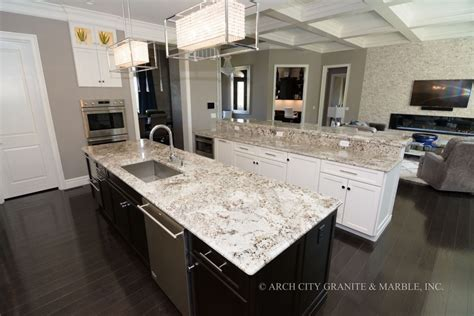 White Granite Kitchen Countertops Make Your Kitchen Look Its Best Arch City Granite Marble Inc