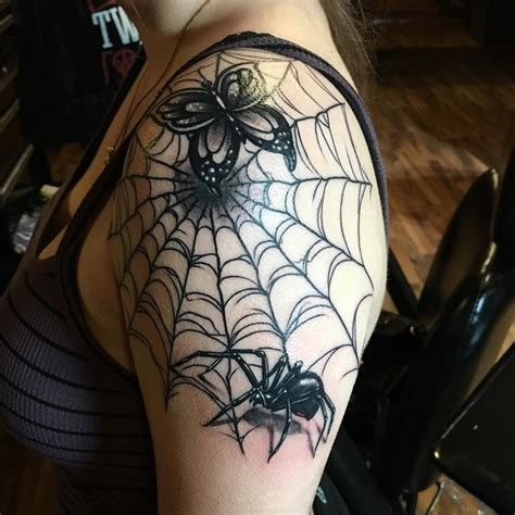 spider web nipple tattoo 35 innovative spider web ideas insightful and
