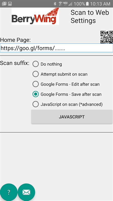 scanning website scan to web android apps on play