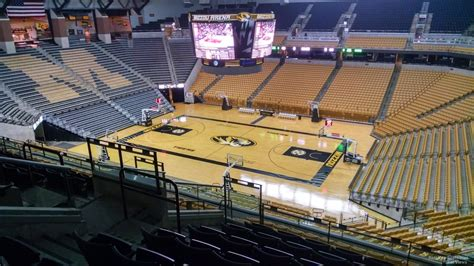 Section 8 Columbia Mo by Mizzou Arena Section 208 Rateyourseats