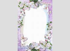 Khung ảnh dọc viền hoa đẹp mắt kích thước cực lớn Dễ Thương Free Black And White Clip Art Letters