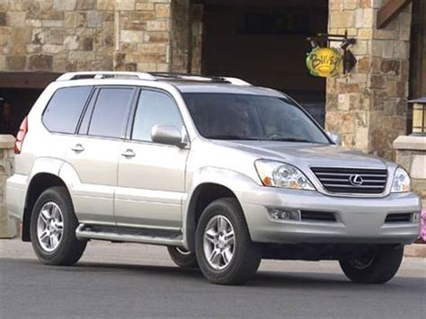 2005 Lexus Gx470 by 2005 Lexus Gx Pricing Ratings Reviews Kelley Blue Book