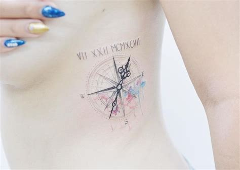 compass tattoo female feminine compass tattoos www pixshark com images