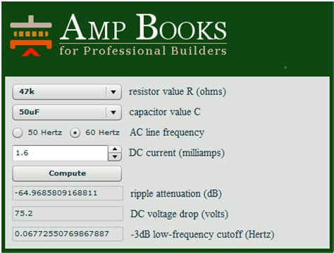 capacitor smoothing calculator capacitor aging calculator 28 images capacitor and inductor are frequency dependent 28