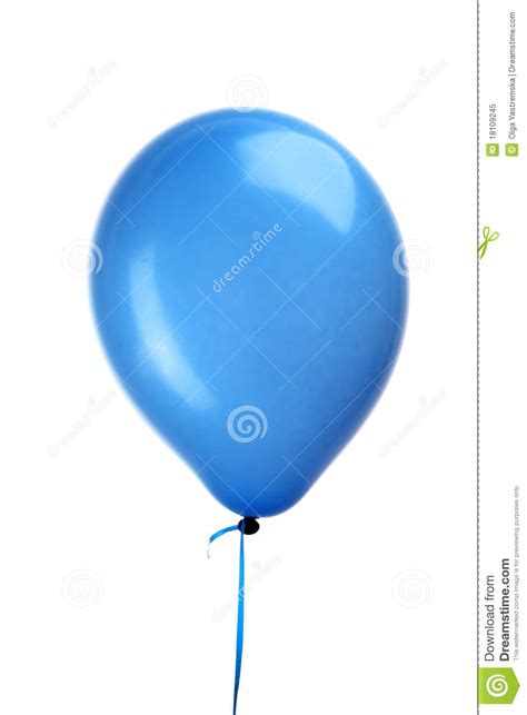 String Balloons - blue balloon with string royalty free stock photo image