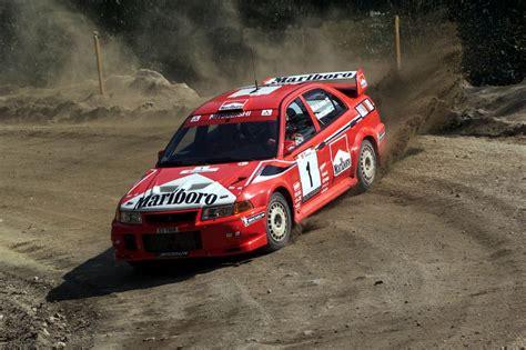mitsubishi evo rally car mitsubishi lancer evolution vi tommi makinen favourite