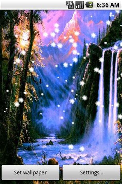 waterfall  wallpaper  android   apps