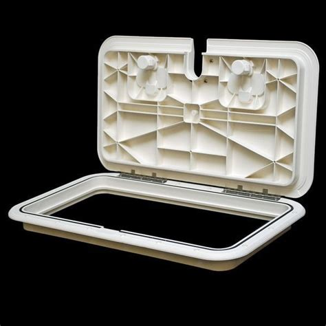 boat anchor hatch innovative product solutions 520 163 11 x 19 arctic white