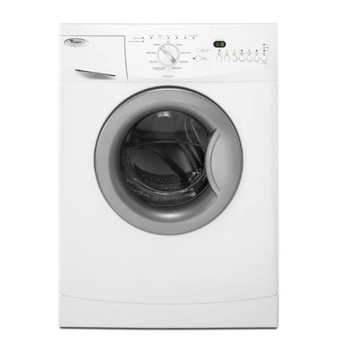 whirlpool front load washer shop whirlpool 2 0 cu ft stackable front load washer white at lowes