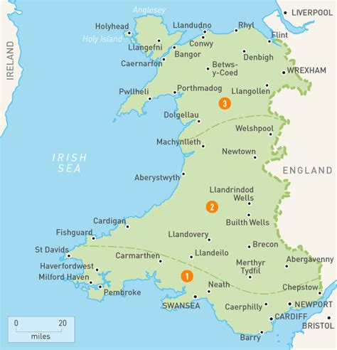 map of wales map of wales wales regions guides guides