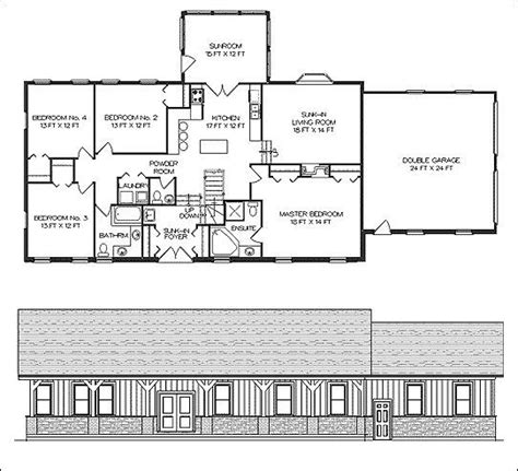 Pole Barn Homes Floor Plans | residential pole barn floor plans joy studio design