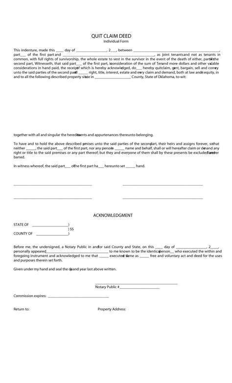 sle warranty deed form best resumes