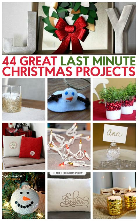 44 great last minute christmas project ideas a little