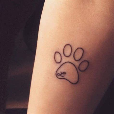 small dog paw print tattoo 25 best ideas about letter s on