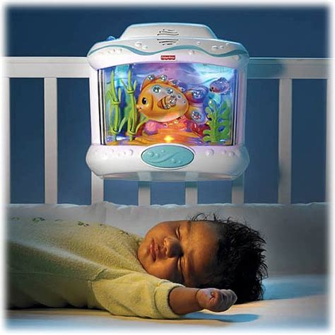Baby Crib Fish Tank by Wrap Around Design For A Great View With Soothing