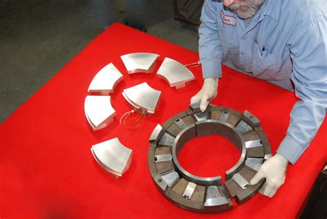 Thrust Bearing As 1024 Asb tilted pad thrust md a turbines