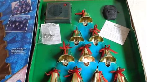 mr christmas bells of christmas brass lighted musical bells mr bells of lighted musical brass bells with remote