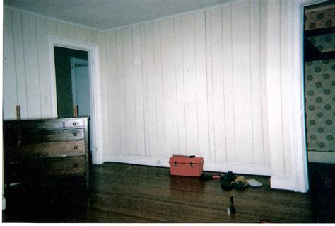 how to whitewash wood paneling in a few simple steps goodbye faux white washed faux wood paneling interior
