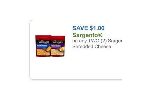 sargento cheese coupons 2018