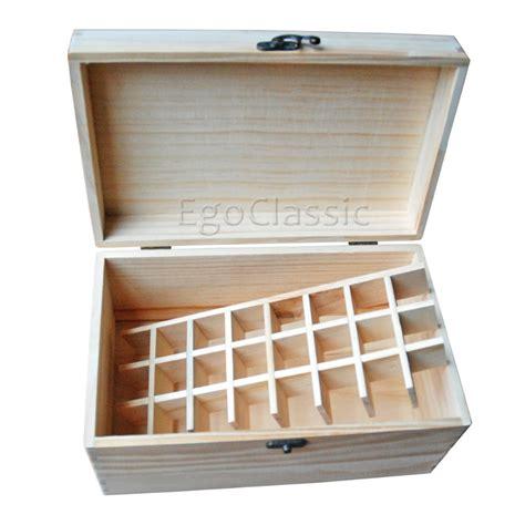 Storage Boxes Bottles Set A 12 pieces set pine wooden box essential oils storage box 24 holes 10ml and 1 crossbar
