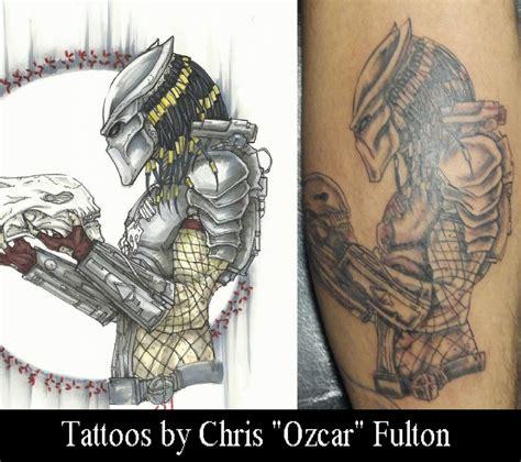 predator tattoo designs predator by chrisozfulton on deviantart