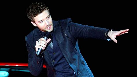 Justin Timberlake Meets A Real Killer by Justin Timberlake Meets The Press The Globe And Mail