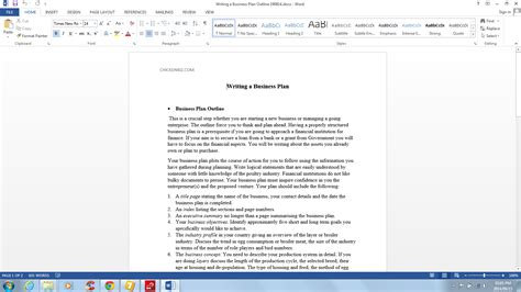 writing a business plan template writing business plan