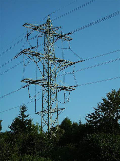 transposition of electrical conductors transposition tower