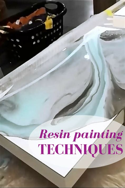how to color resin resin painting techniques learn how to use several colors