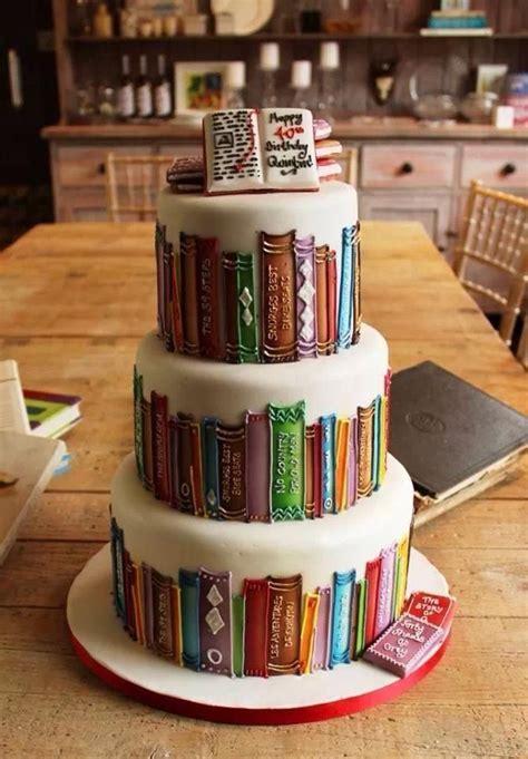 book themed party party ideas pinterest 16 pasteles inspirados en libros que desear 225 s tener en tu