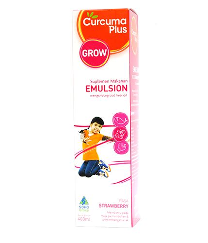 Brainking Plus Nutrisi Otak Best Seller curcuma plus emulsion strawberry 400 ml gogobli