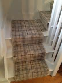 Tartan stair runner country hall and stair runners