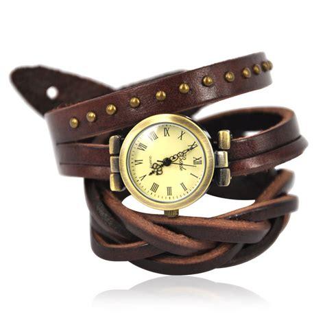 Brown Leather Wrap Around Brown Leather Wrap Around Wrist On Luulla
