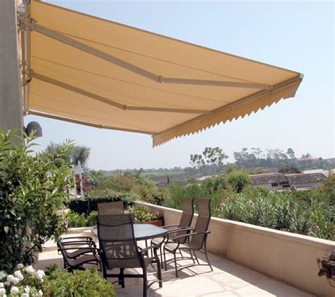 Patio Awnings Retractable by Retractable Patio Awnings Copper Series