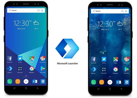 microsoft launcher themes microsoft launcher beta updated for android with