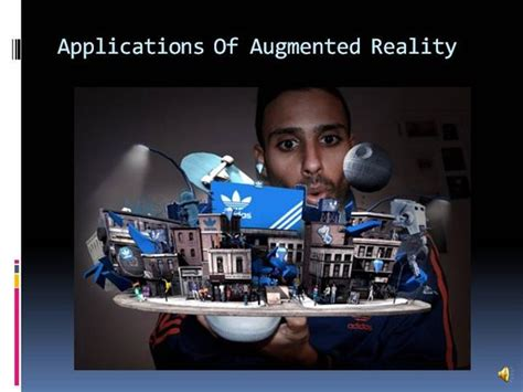 Applications Of Augmented Reality Authorstream Augmented Reality Ppt Template